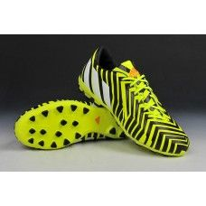 0c8113c36a86 Adidas Predator Absolado Instinct AG Light Flash Yellow White Dark Grey  cheap football shoes