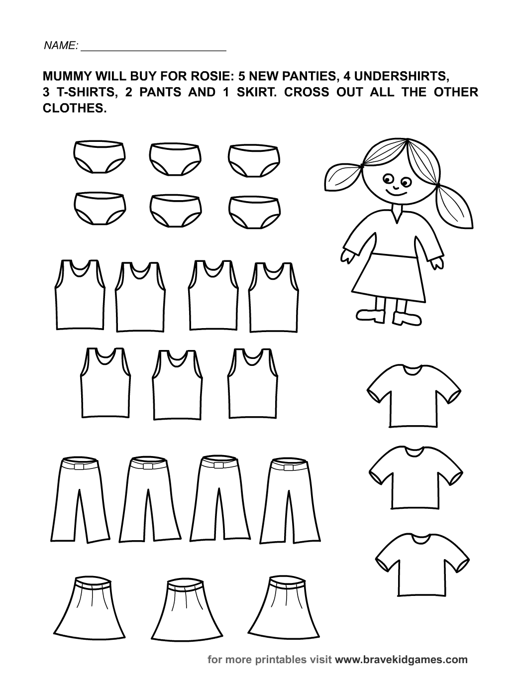 Free Printable Preschool Worksheets For Learning The