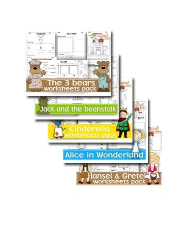 once upon a fairy tale activities worksheets for summertime school pinterest. Black Bedroom Furniture Sets. Home Design Ideas