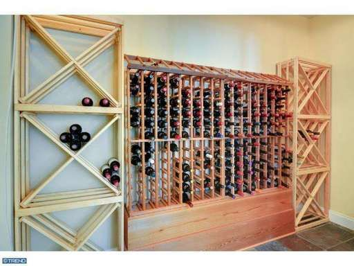 A home wine cellar that provides the opportunity to stock up  your favorite vintage and age your collection to perfection #Home #Wine #Cellar