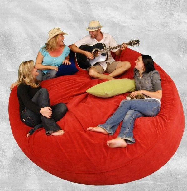 Modern Sofa Large Bean Bag Round Lazy Beanbag Sofa Bed Buy Large Bean Bag Round Beanbag Lazy Beanbag Sofa Bed Pro Artesanato E Faca Voce Mesmo Faca Voce Mesmo