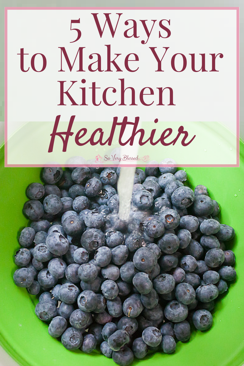 Use these 5 ways to make your kitchen healthier to create an environment that will set you up for success in living a healthy lifestyle.