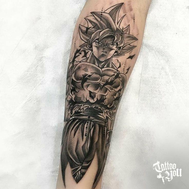 Son Goku Ultra Instinct Son Goku Tattoo Geometrisches Tattoo Tattoo Ideen Tattoo Vorlagen
