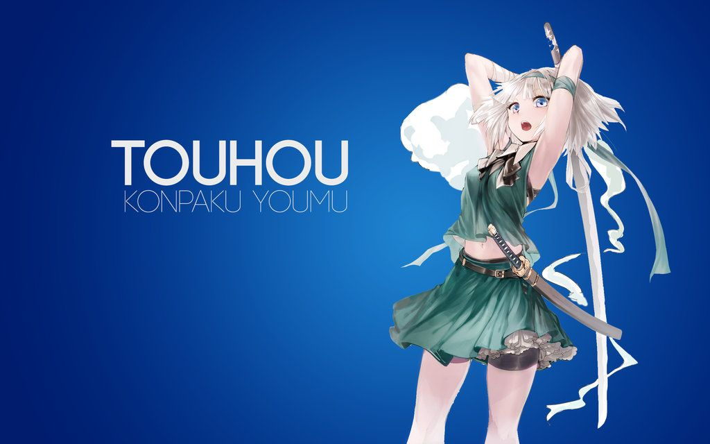 Blue konpaku Youmu by AssassinWarrior