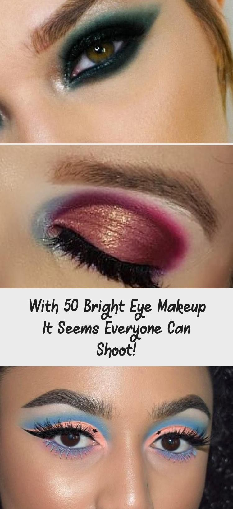With 50 Bright Eye Makeup It Seems Everyone Can Shoot Pinokyo