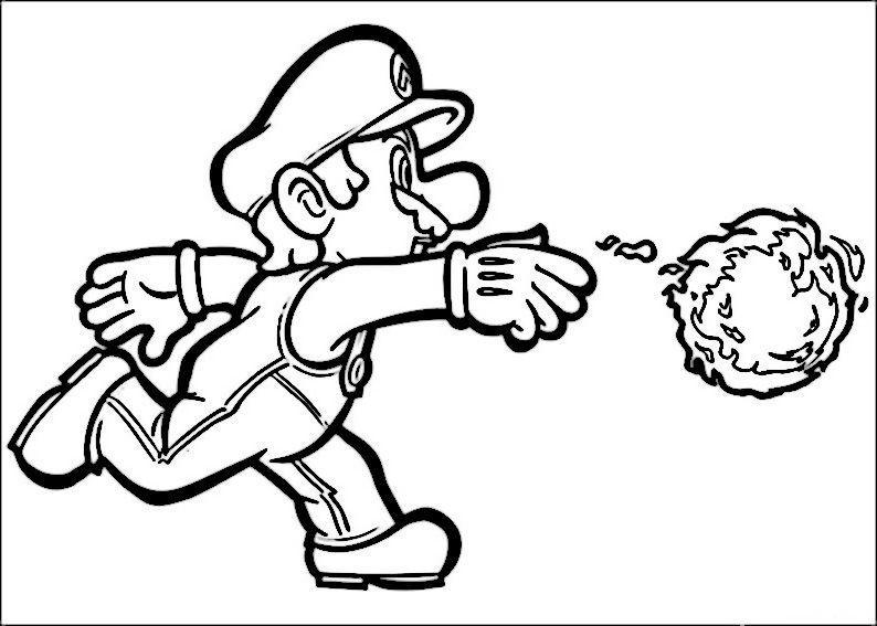 Beautiful Coloriage Super Mario Davis Lambdascom