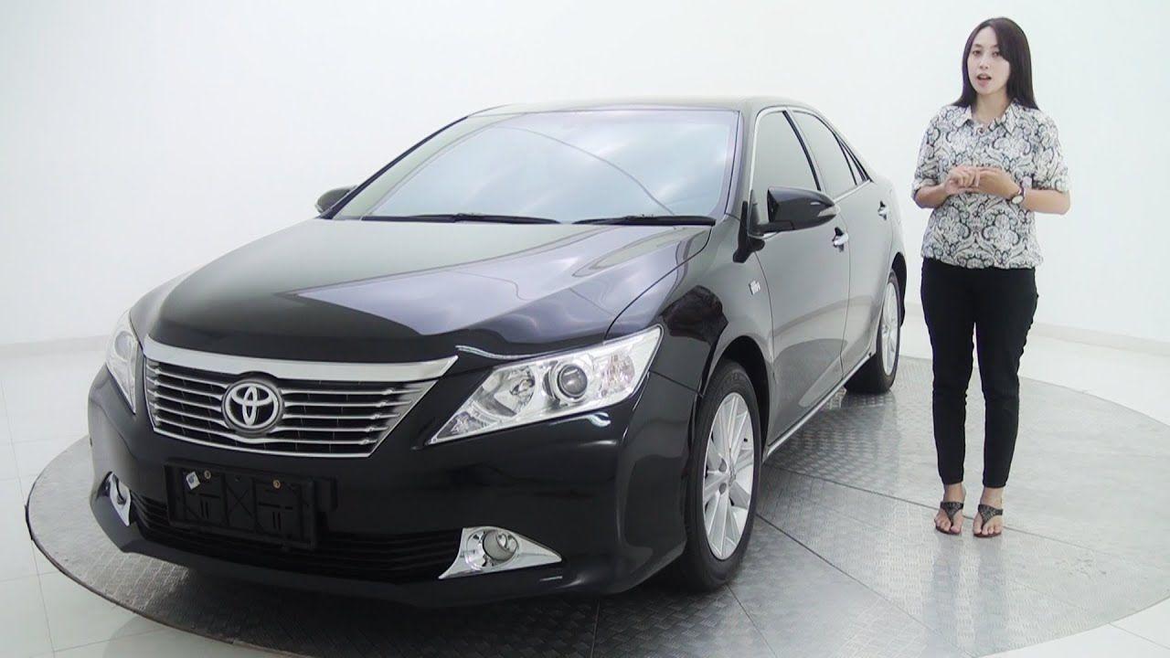 Jual Review Mobil Toyota Camry 2 4 V At Hitam Metalik 2012 Sold