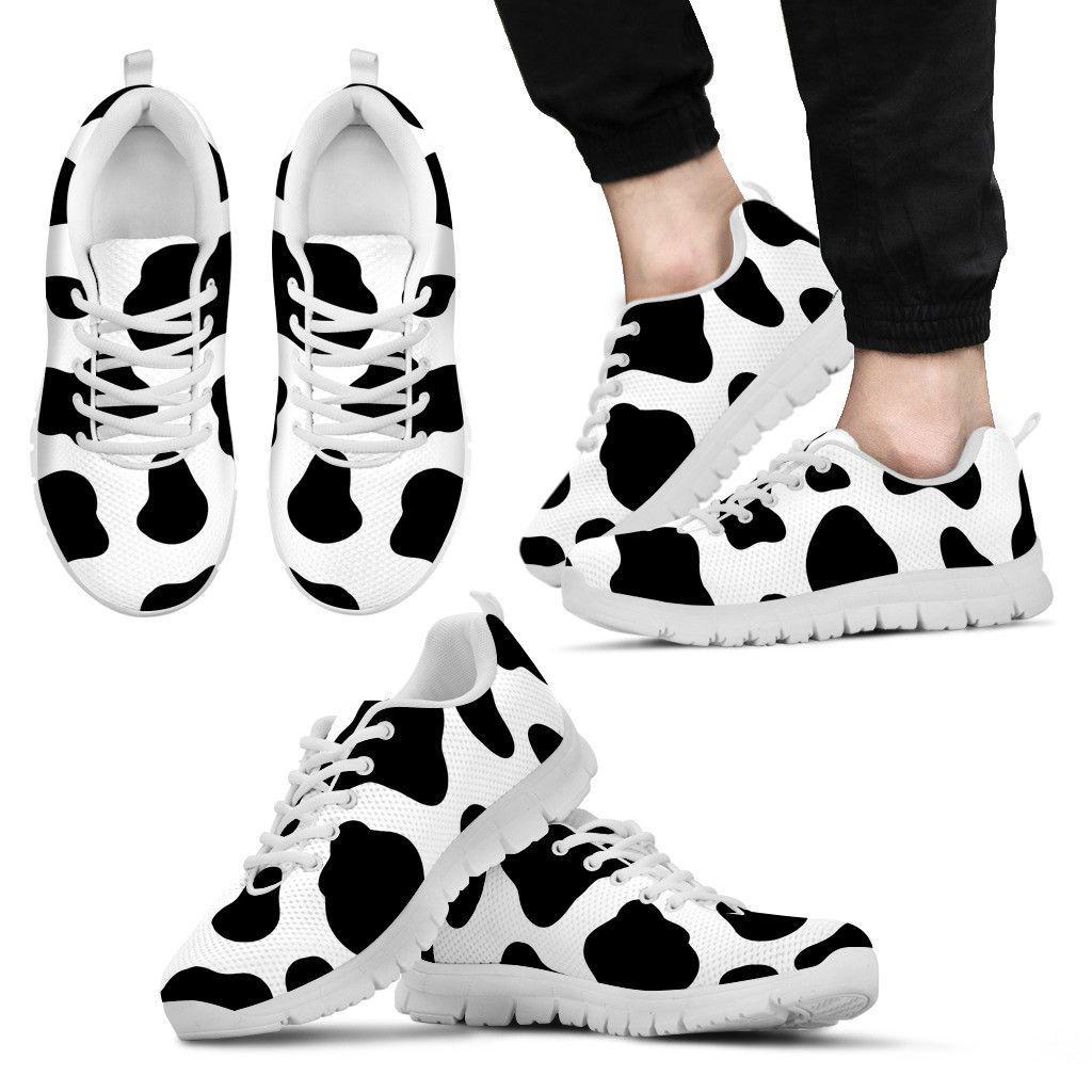 Cow Print Sneakers Ku-trykk, Cow-skjorte, Cow  Cow print, Cow shirt, Cow