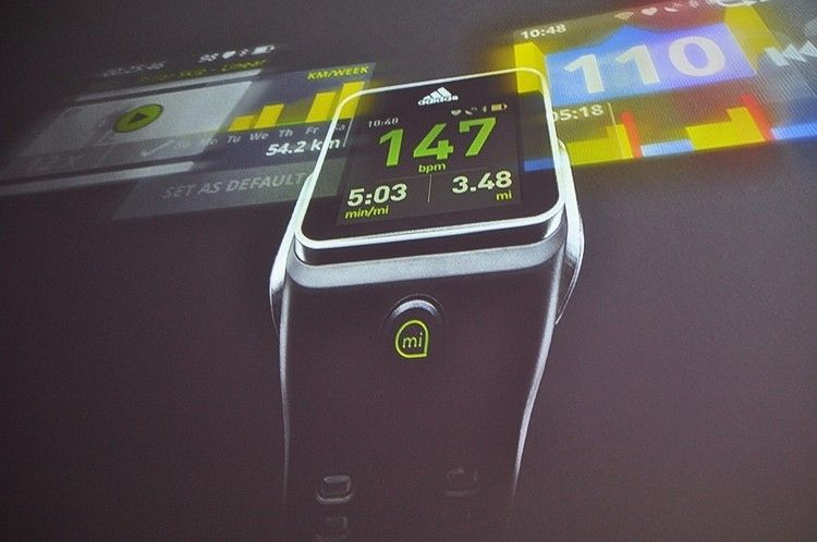Adidas showcases pricey fitness watch with GPS tracking