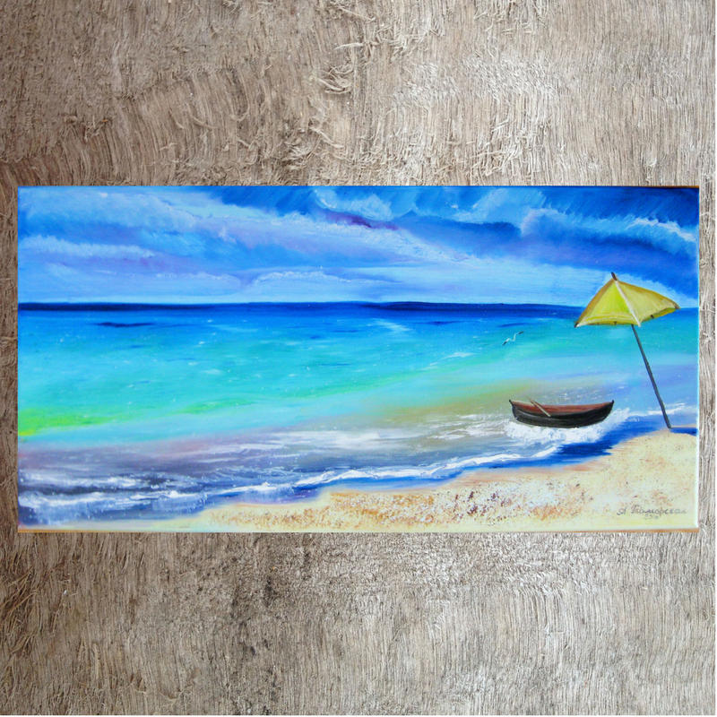 i will paint your vacation personalized gift original oil painting