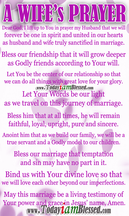 A Prayer for your Husband | Quotes | Pinterest | Husband prayer ...