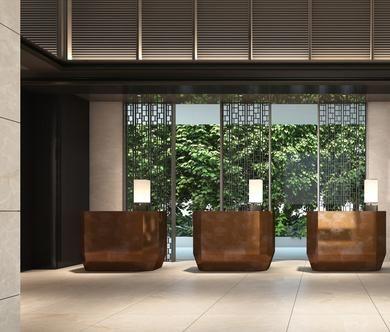 罗伯逊码头洲际酒店 - 新加坡 - 室内设计 - SCDA