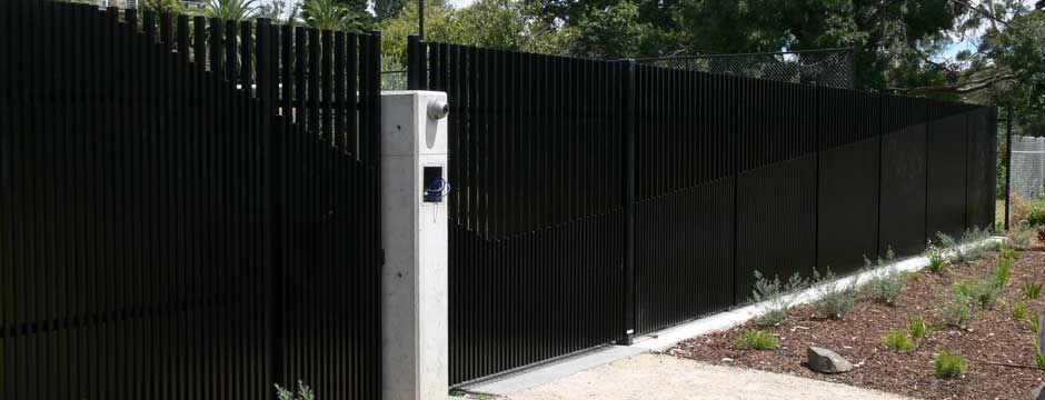 Slat Fencing Melbourne Aluminium Colorbaond Timber Metal Slat Fence Slats Timber