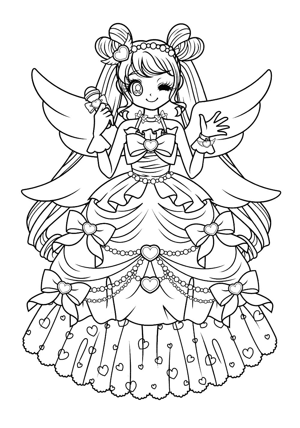 Pin by Michelle on Anime coloring pages! | Pinterest | Coloring ...