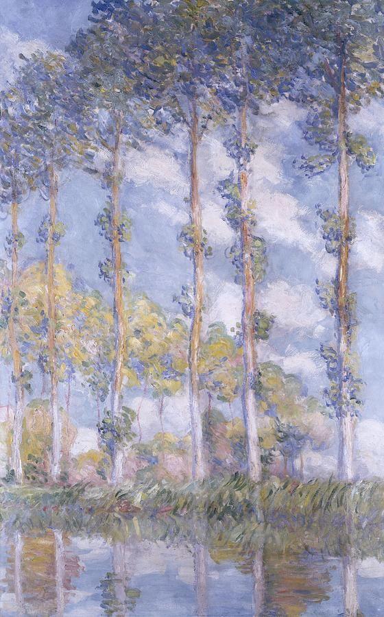 The PoplarsClaude Monet Love the colors! Claude Monet