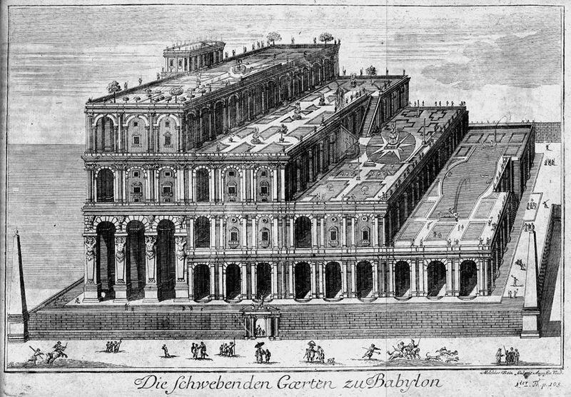 Les jardins suspendus de babylone l 39 odyss e du temps - Effroyables jardins histoire des arts ...