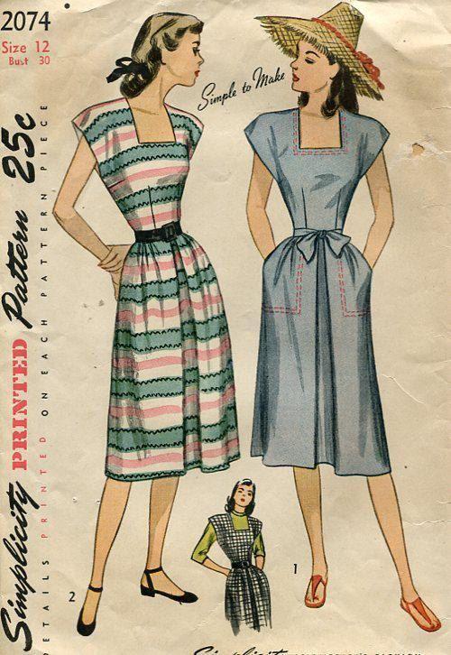 Pin Em Vintage Sewing Patterns
