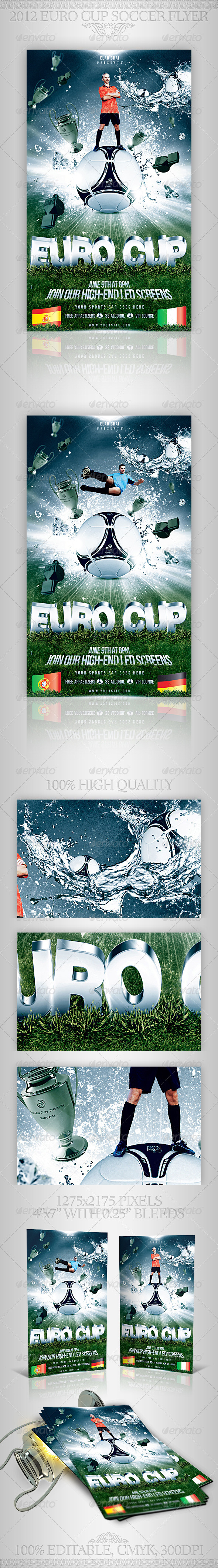 Soccer Football Cup Flyer Template Graphicriver A Modern Fresh