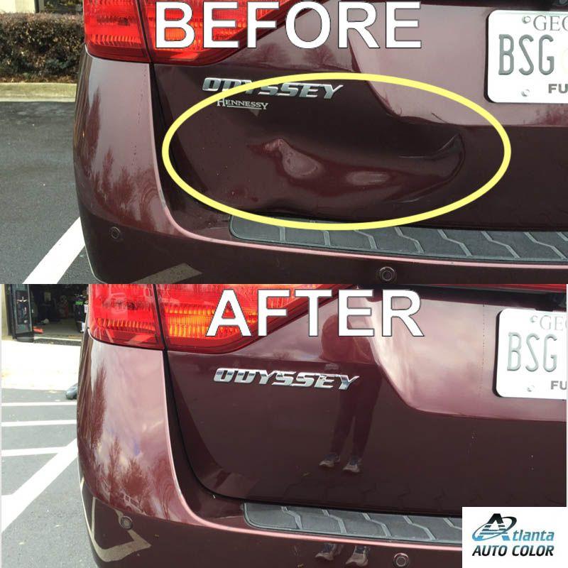 Dent Removed from Honda Odyssey Atlanta Dent Company