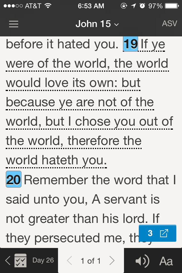 From this bible app i got
