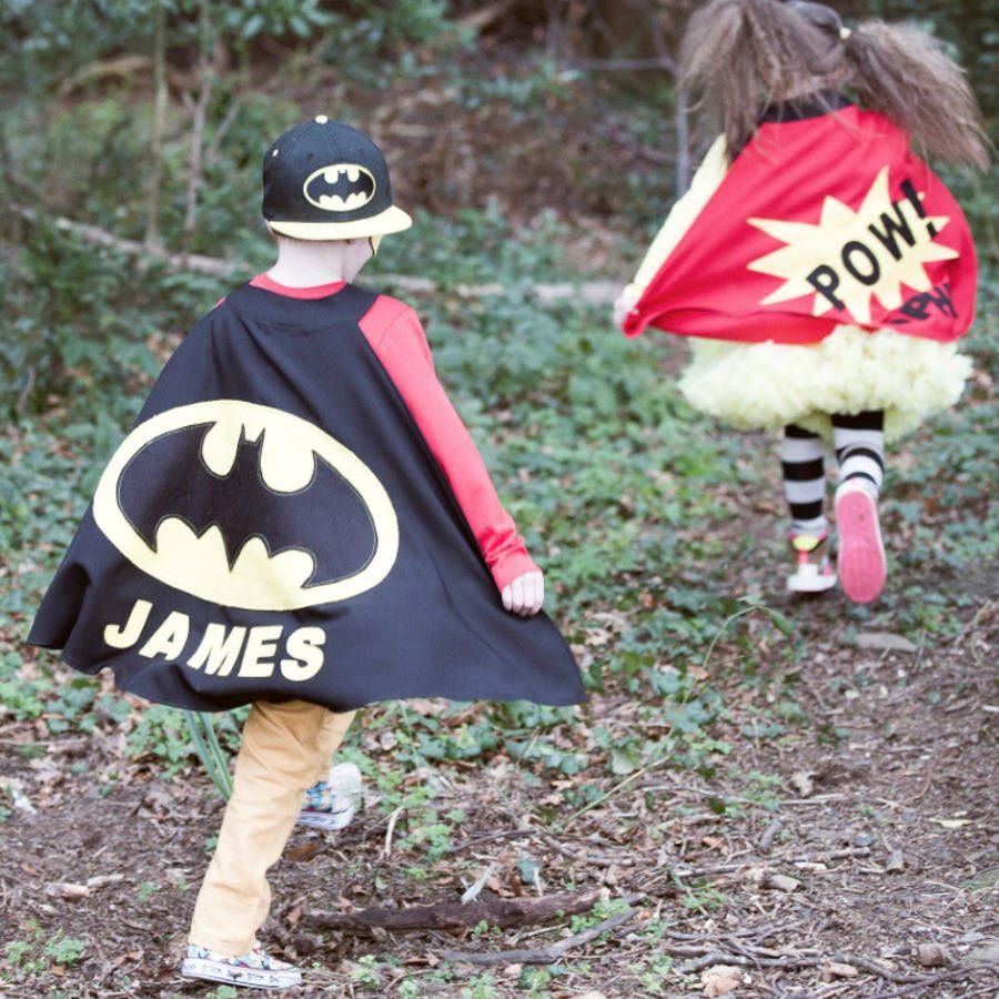 personalised batman cape