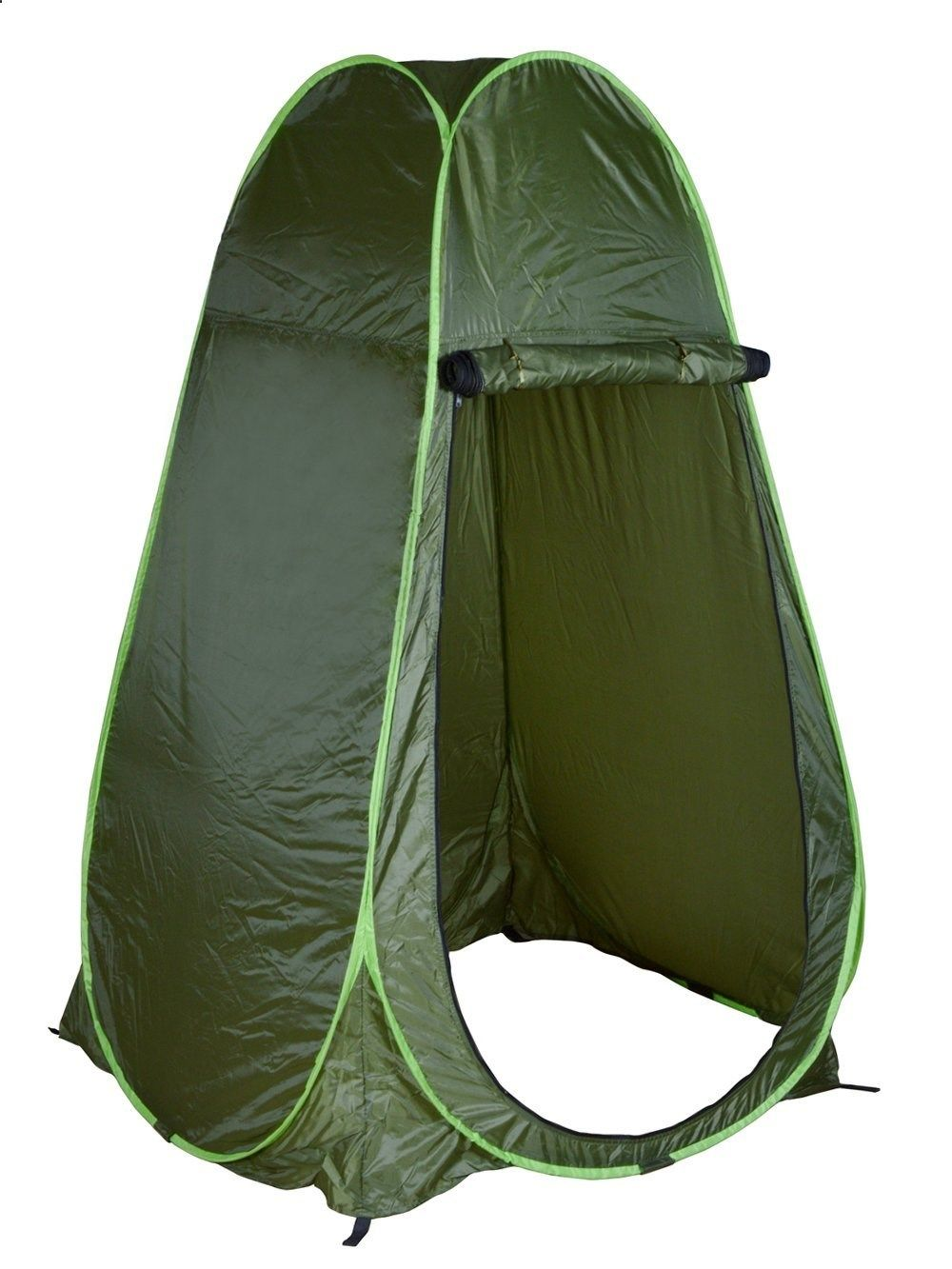 Camping toilet tms portable green outdoor pop up tent