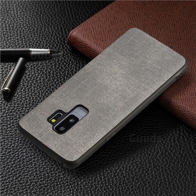 2019 的 Canvas Cloth Coated Soft Phone Cover for Samsung Galaxy S9