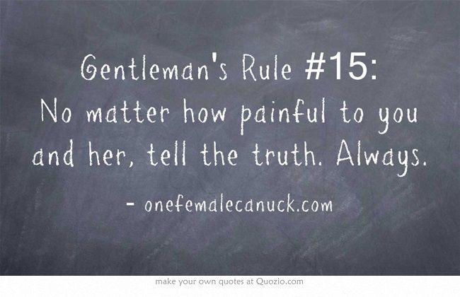 ideas about Gentleman Rules on Pinterest   Gentleman     Pinterest