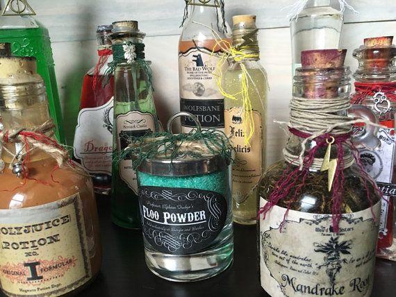 Harry Potter Potions Starter Kit (EMPTY) - Amortentia, Pepper-Up ...