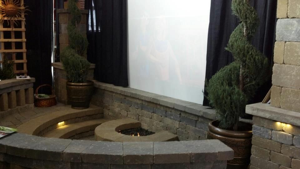 Shaneu0027s Outdoor Living And Landscape At Indianapolis Flower And Patio Show.  Outdoor Theater. Loved