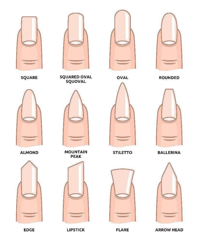 Beliebte Nagelformen für perfekte Fingernägel (Bild: © NEGOVURA ...