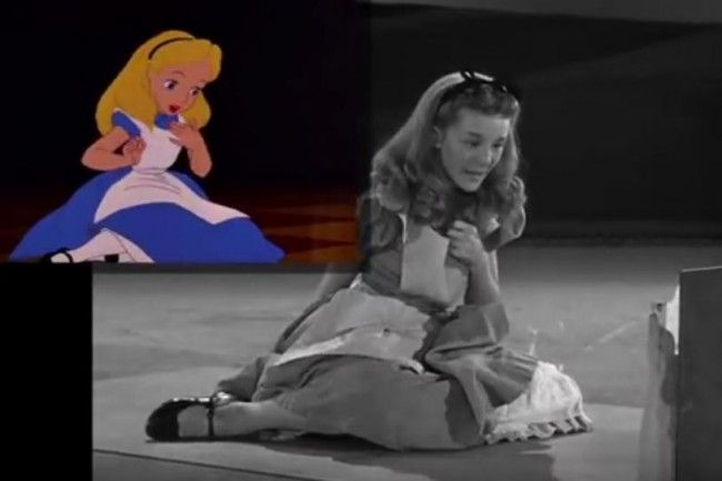 She Played Alice And This Is How Disney Animated Her For ...