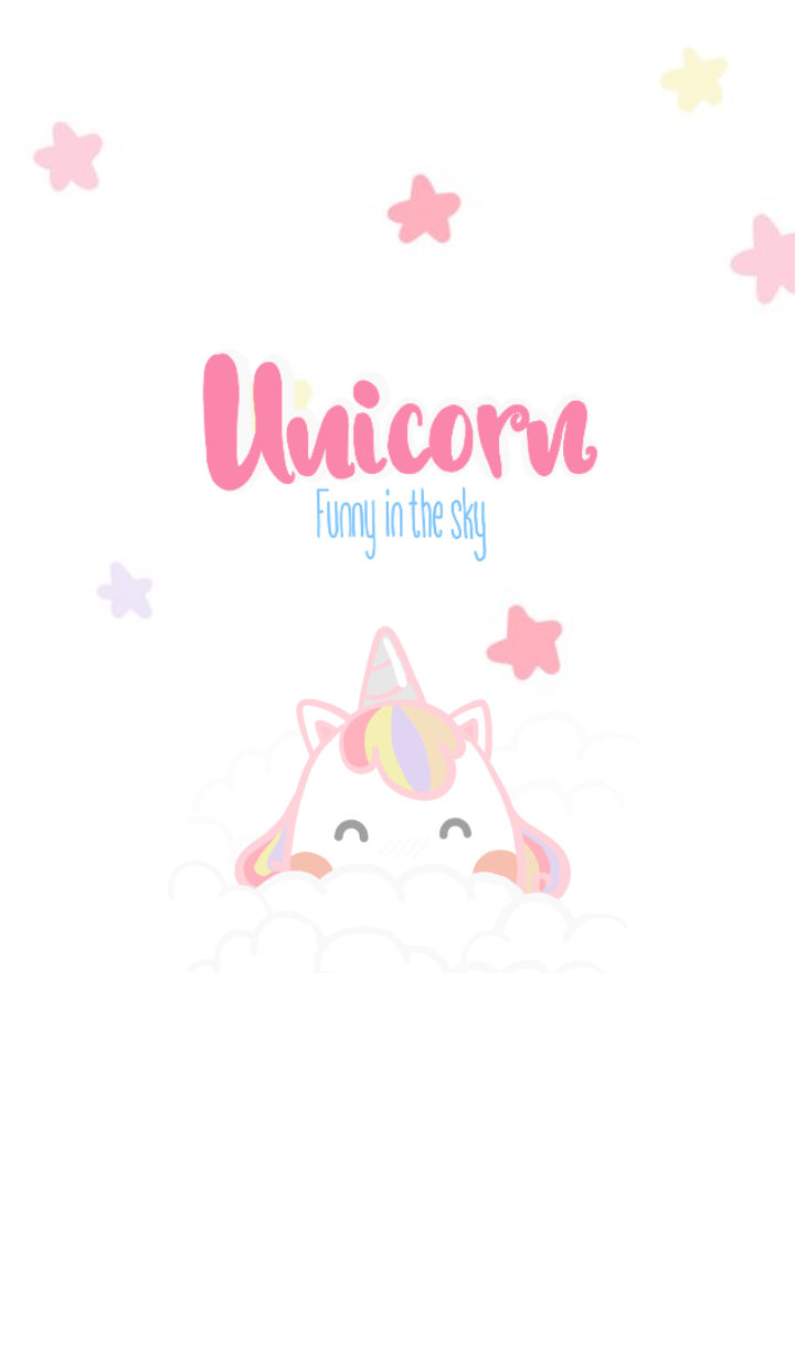 Hello My Name Is Unicorn I Like Pink Color Hope You Funny In The Sky With Me Unicorn Pony P Pink Unicorn Wallpaper Unicorn Wallpaper Cute Unicorn Wallpaper