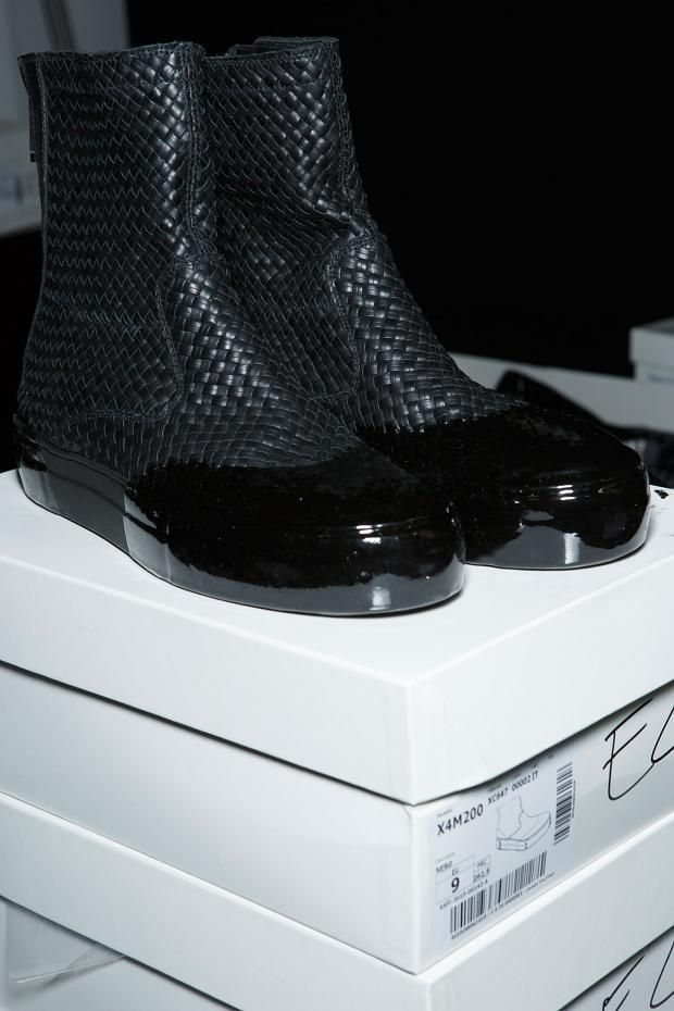 Emporio Armani Men's Backstage S/S '15---Ok can they make these for women please?***JO