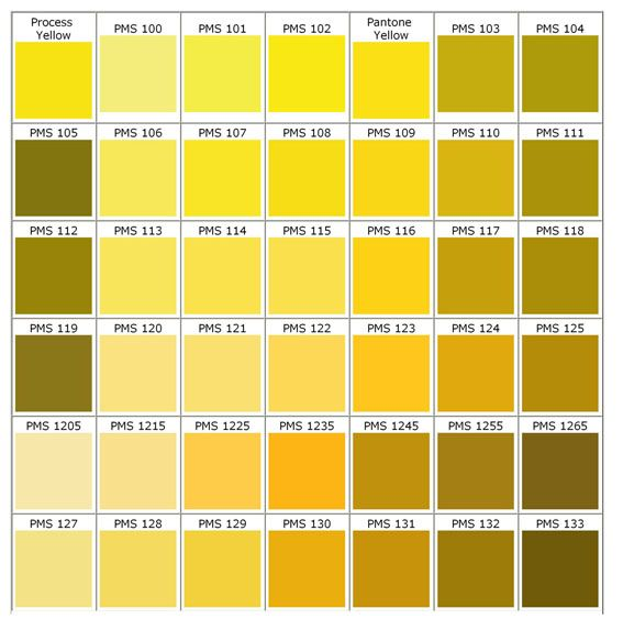 Pms Color Chart - Choose Your Own Silicone Bracelets, Silicone