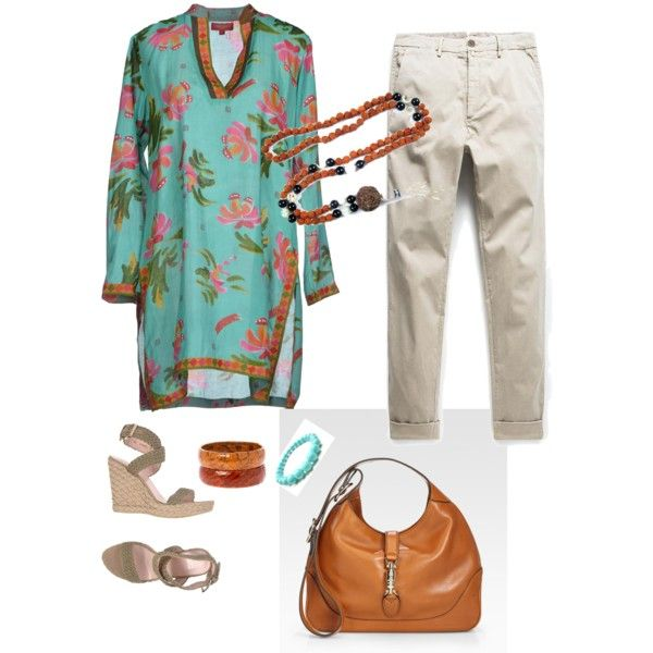 A fashion look from January 2015 featuring Lisa Corti tunics, MANGO capris and Stuart Weitzman sandals. Browse and shop related looks.