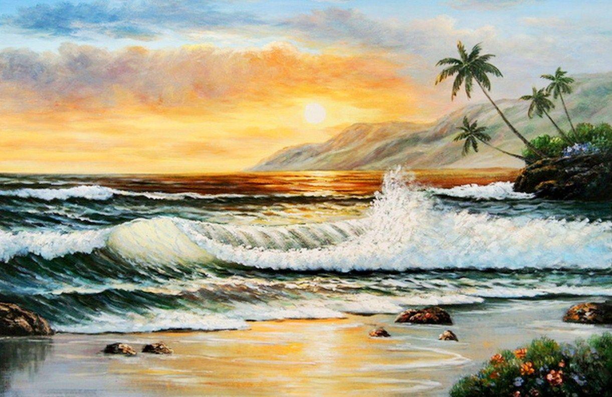 paisajes marinos para pintar al oleo | MARINAS - ART ...