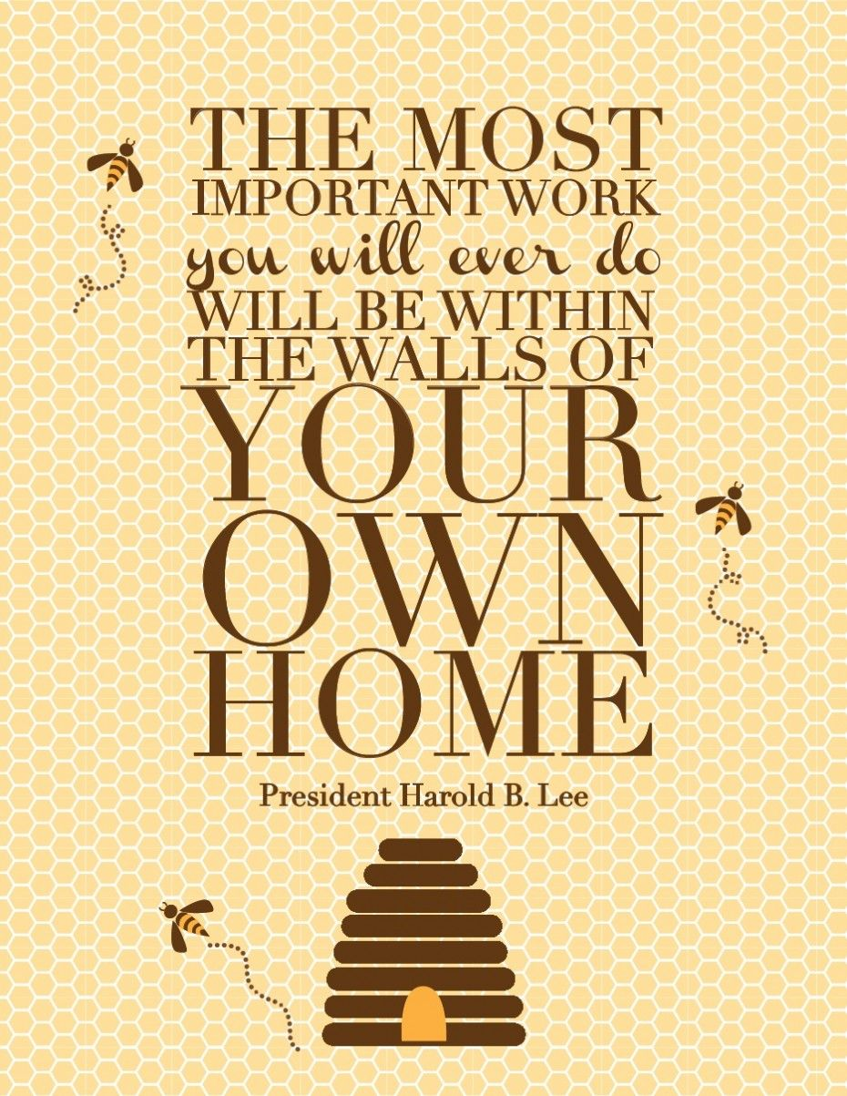 Life Quotes Harold B Lee Quote In The Redheaded Hostess On Brown Paper