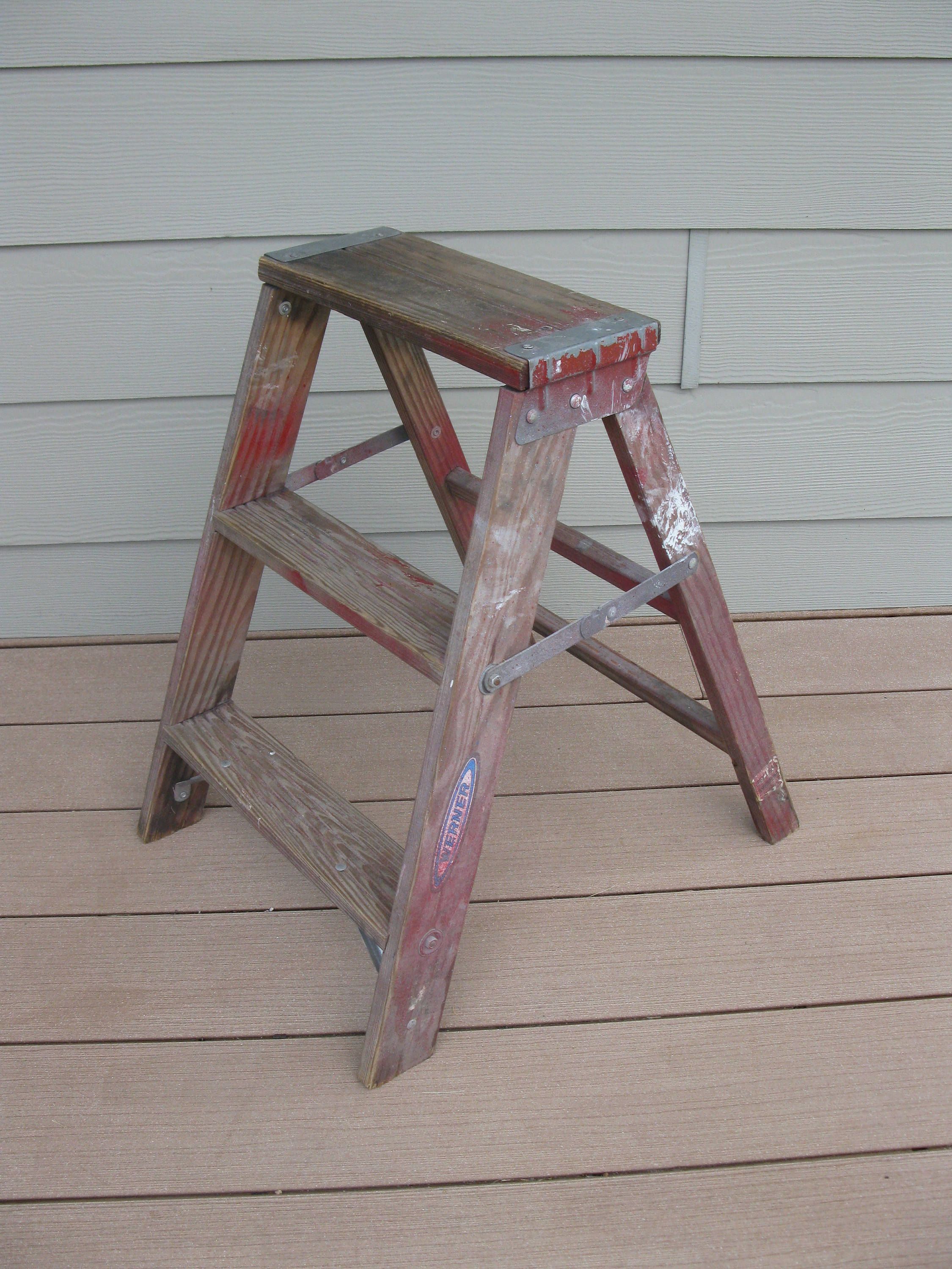 Your Place To Buy And Sell All Things Handmade Wood Ladder Step Stool Wooden Steps