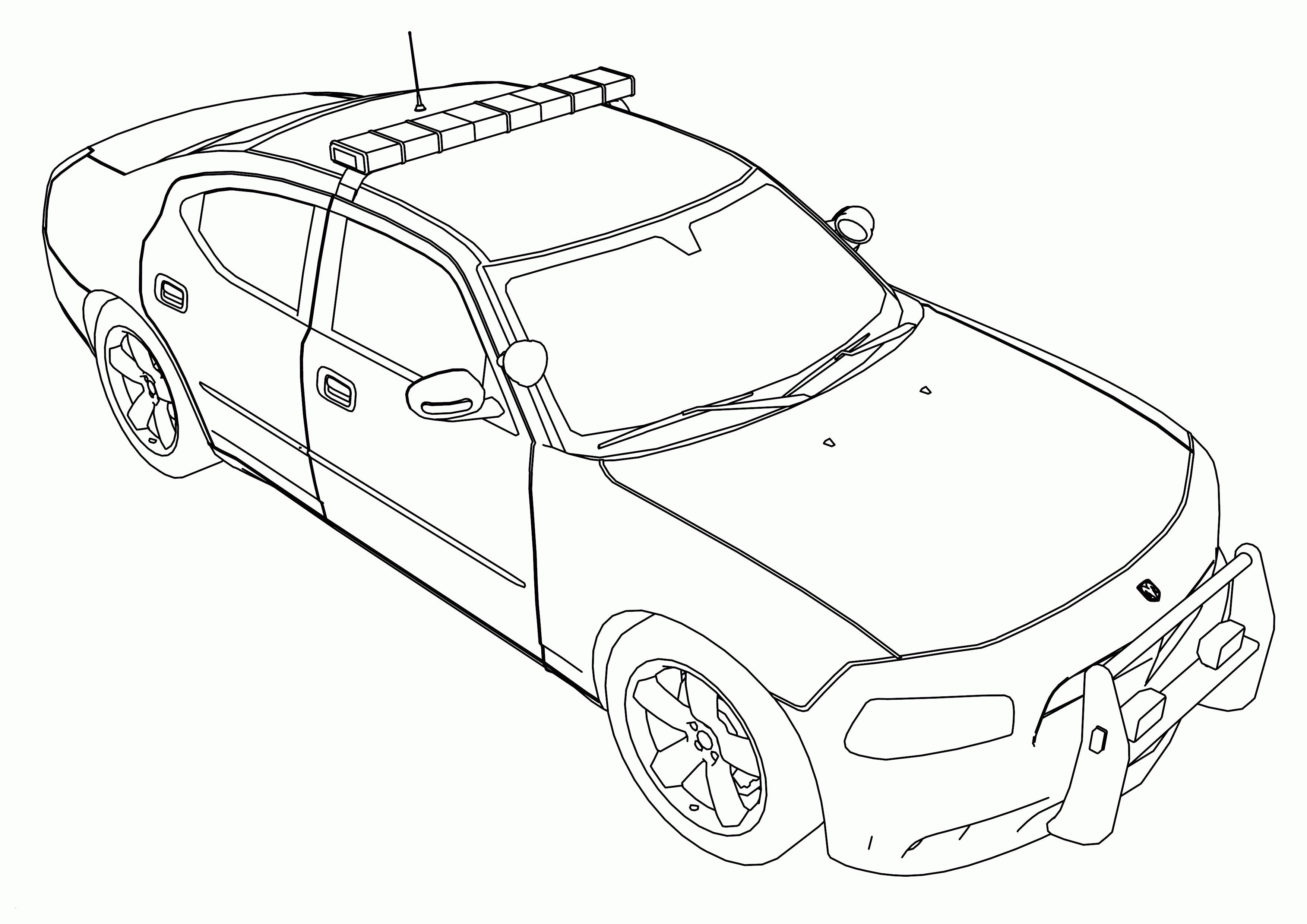 City Police Car Printable Coloring Page Cars Coloring Pages Paw