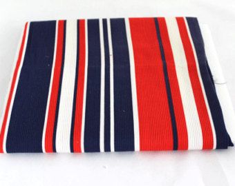 Check out Fabric Reclaimed Corduroy Red, White, Blue Striped on attictreasuresbyjudy