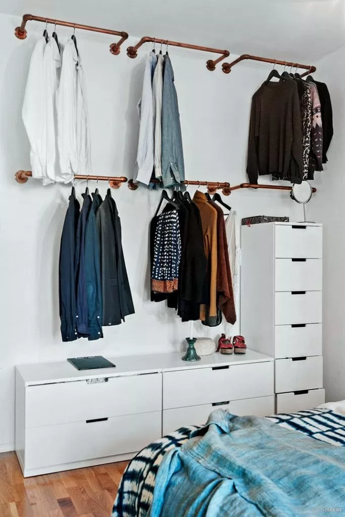 40 Amazing Small Bedroom Ideas Roomideas Roomdesign Bedroomideas Home Garden Diy Clothes Storage Closet Small Bedroom Bedroom Storage Ideas For Clothes