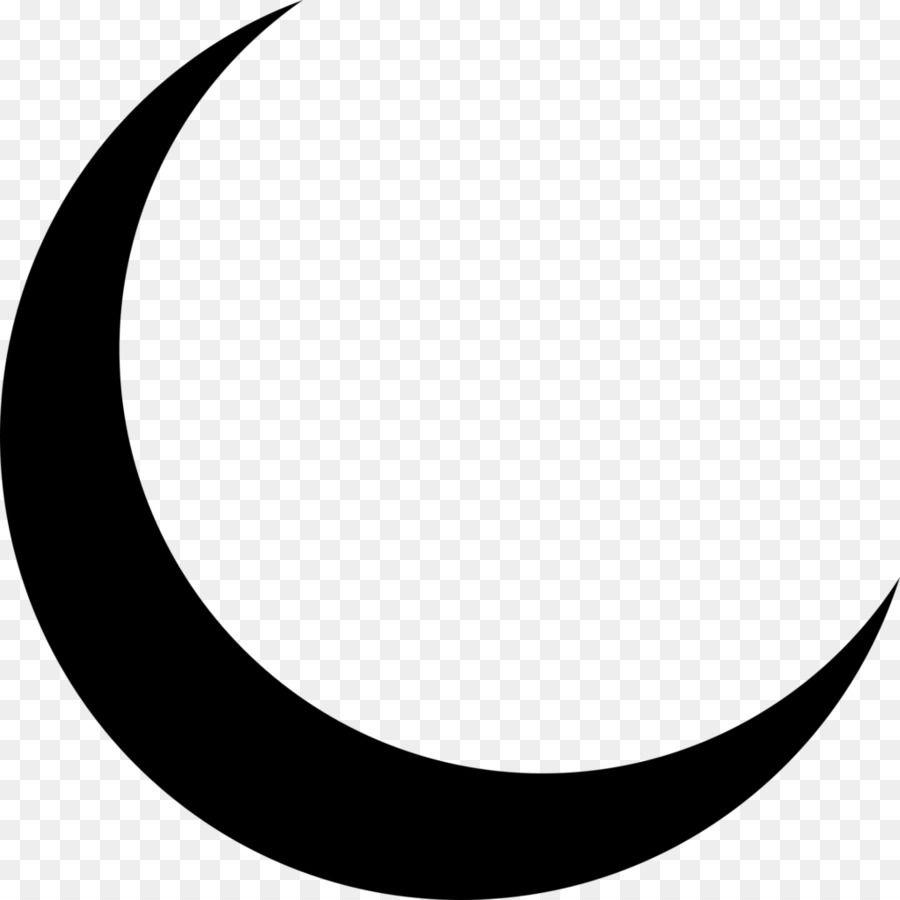 Lunar Phase Crescent Moon Symbol Clip Art Moon Clipart