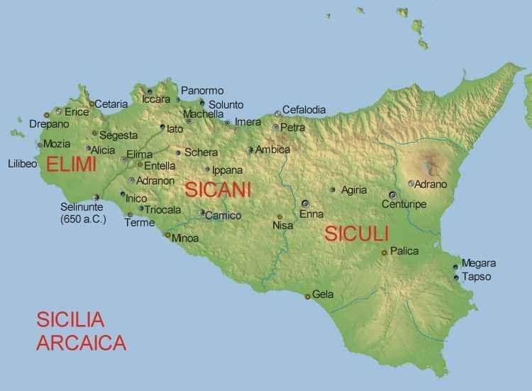 Cartina Sicilia Antica.Preistoria Breve Sintesi Delle Origini Dei Popoli Di Sicilia Sicilia Mappe Antiche Lingua Siciliana