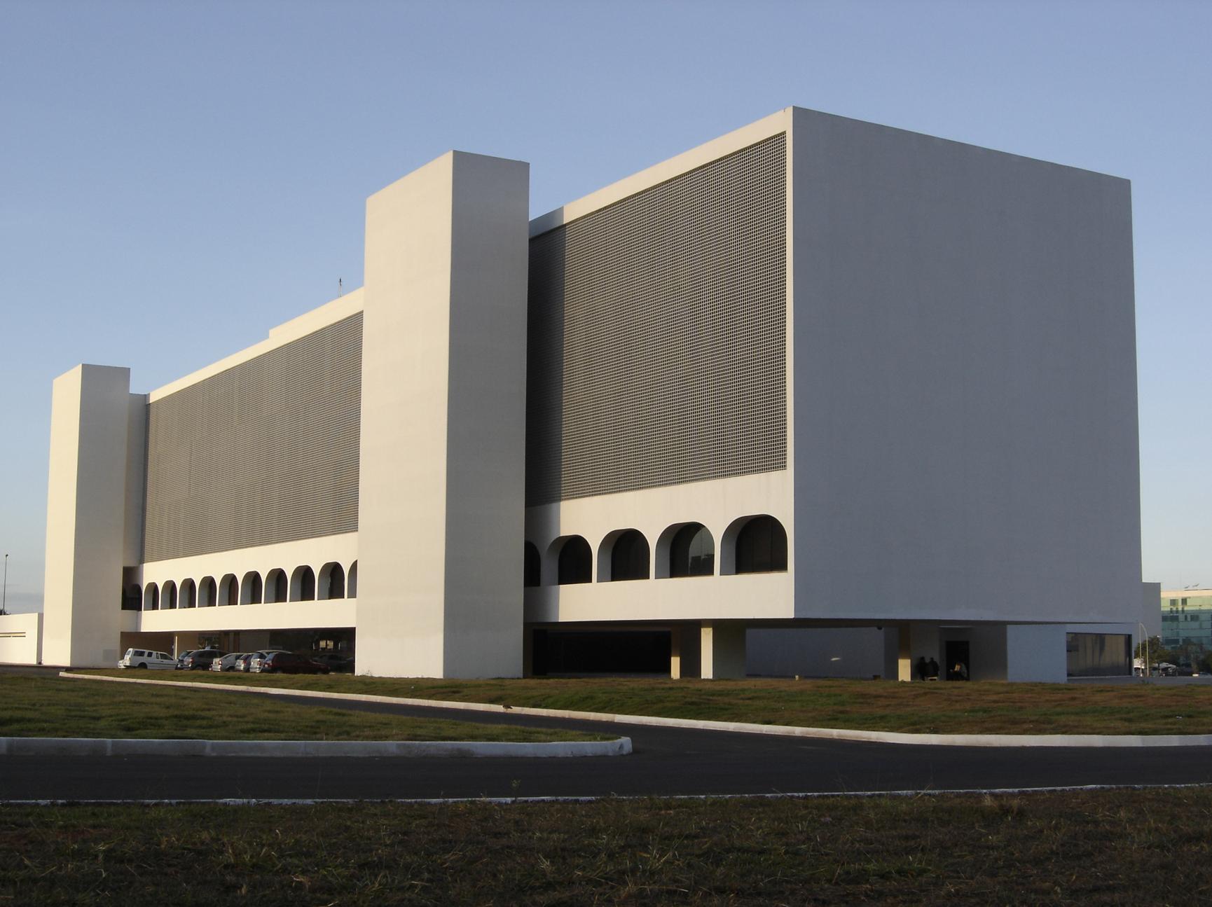 National Library of Braslia in Braslia Brazil