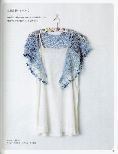 Asahi Original Rose Motif Shawl & Stole — Yandex.Disk #scarvesamp;shawls