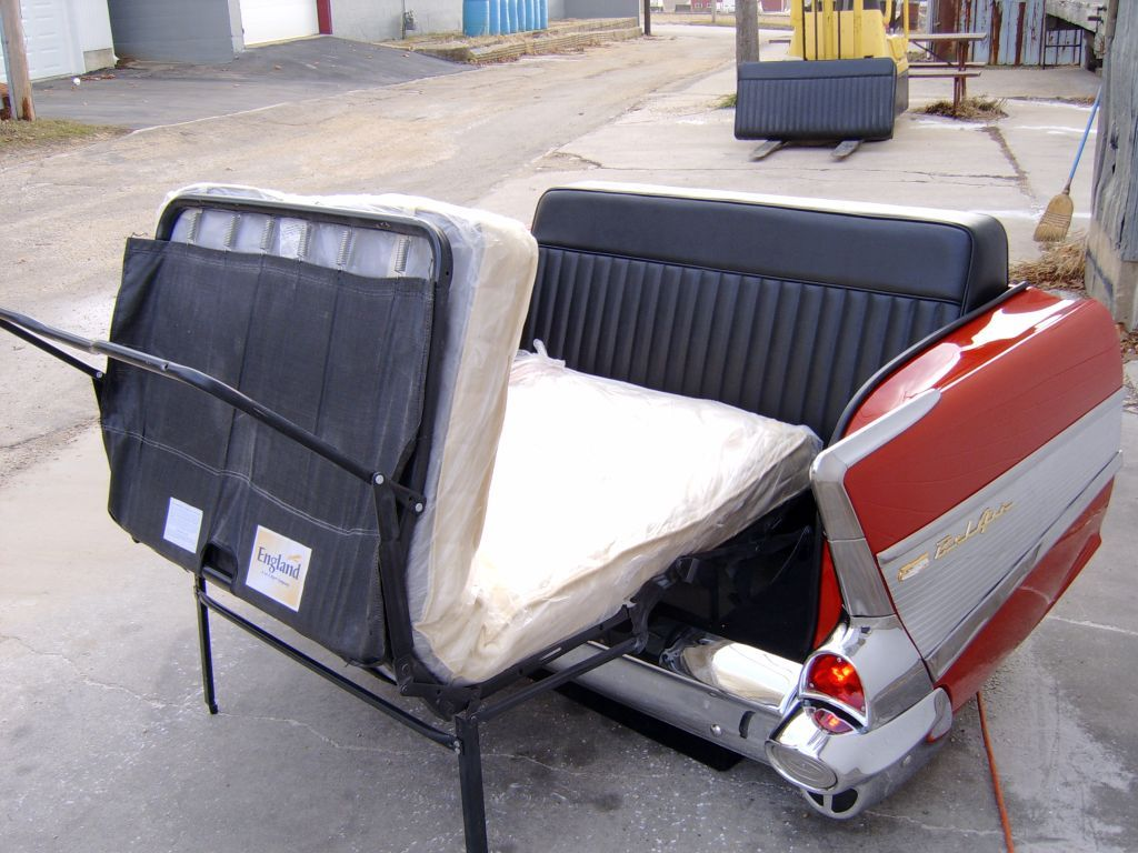 1957 Chevy Hide-a-bed Couch. Interested? Contact Us At Http: