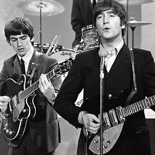 Watch Rare Beatles Footage From The Ed Sullivan Show In 1964 The Beatles The Ed Sullivan Show John Lennon Beatles
