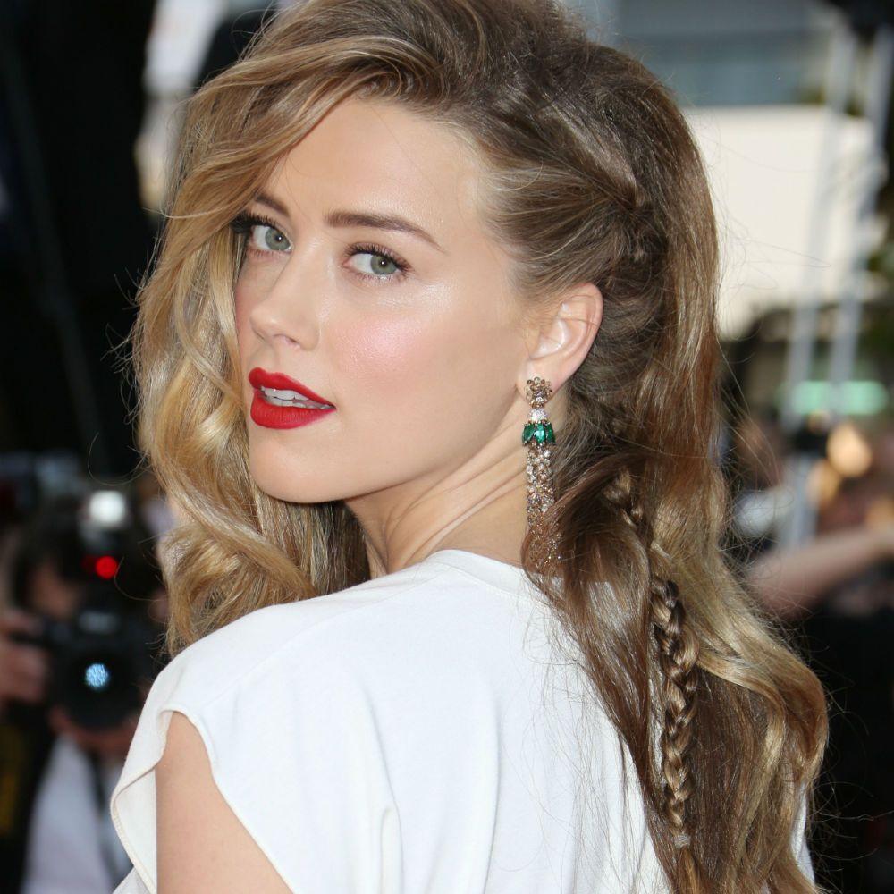 Amber Heard Hair 2014