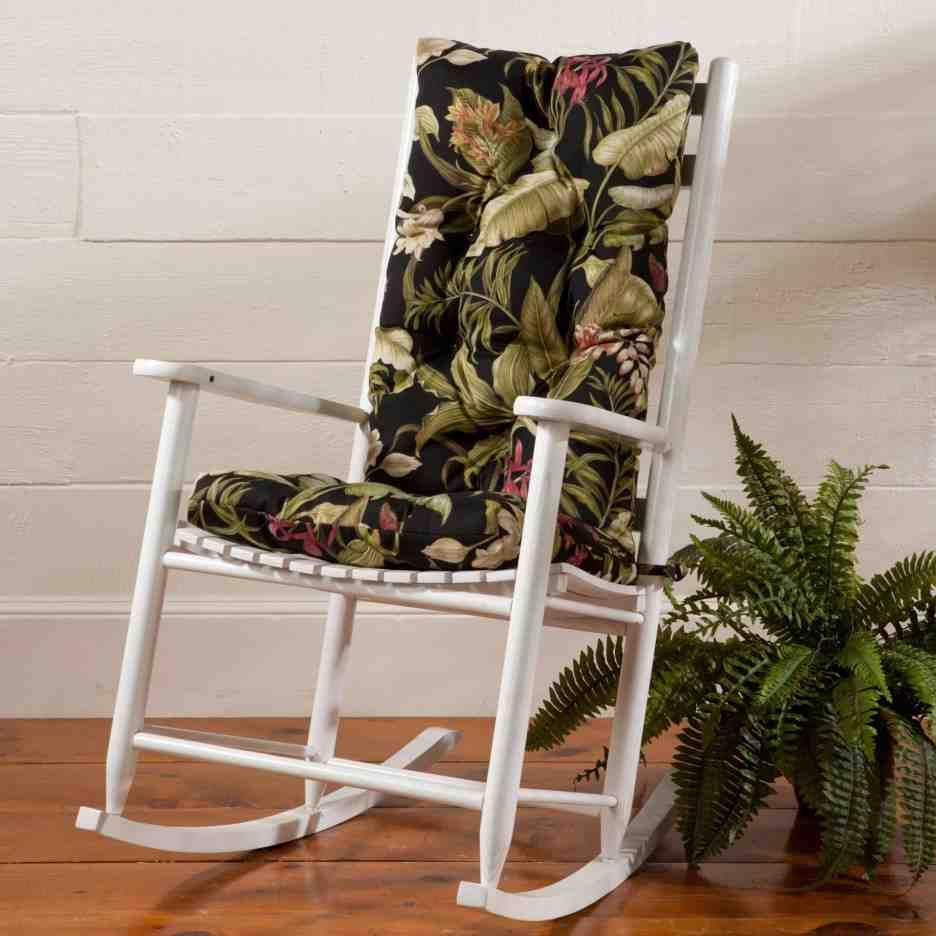 Outdoor Rocking Chair Seat Cushions Rocking Chair Cushions Chair Cushions Wooden Rocking Chairs